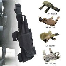 Hunting Waterproof Army Tactical Puttee Thigh Leg Gun Pistol Gun Holster Pouch
