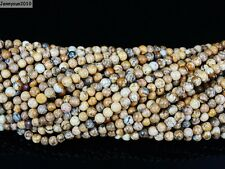 Natural Gemstones 2mm & 3mm Round Spacer Seed Beads 15.5'' Jewelry Making Crafts