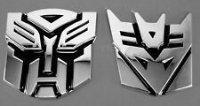UE49 Logo Protector Autobot Transformers Emblem Badge Graphics Car Sticker 3D