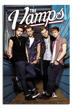 The Vamps Standing Large Maxi Wall Poster New - Laminated Available