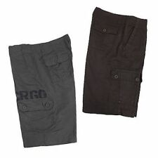 MENS CARGO PANTS COTTON CHOCOLATE OR GREY SIZES 75, 80 , 85 , 90 ,  95 ,100 CMS