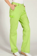NWT Koi WASABI Green ZIP FLY Scrub Uniform JORDAN Pants 2X 3X REGULAR PETITE