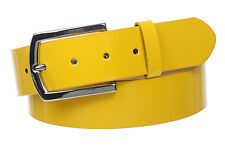 "1 1/2"" (38 mm) Snap On Nickel Free Faux Synthetic Patent Leather Fashion Belt"