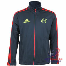 Adidas Munster Rugby Union Player Issued Fleece Zipped Jackets / Sweaters rrp£90
