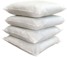 Set of 4 Scatter Cushion Pad Insert for Covers hollowfibre filled filler inners