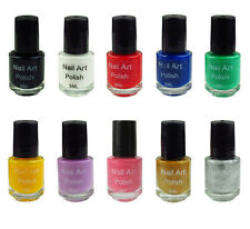 Nail Art Polish Stamp Stamping Special Polish for Template 5ml More Color Choice
