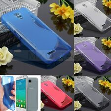 S Line Soft TPU Gel Silicone Case Cover For Alcatel One Touch Idol 2 Mini/S/C7/X