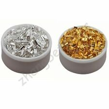 6 8 9 10 mm Gold Silver Plated Fold Over Crimp Charm Beads Cord End Tips Finding