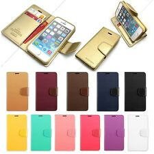 Pu-leather Quick stand wallet case cover for iPhone 4S 5S / Galaxy / LG G2 G3