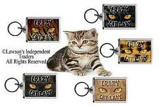 Crazy Cat Lady Keyring - 5 superb designs to choose from!