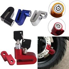 New Motorcycle Bike Bicycle Security Rotor Disc Brake Wheel Alloy Safe Lock #F8s