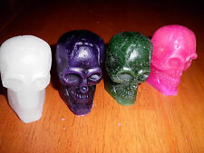 DECORATIVE WAX TARTS-CANDLES NEW SKULL MANY SCENTS TO CHOOSE 1 OZ HALLOWEEN