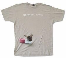 """RED HOT CHILI PEPPERS """"I'M WITH YOU TOUR 2012-2013 TAMPA-INDIO"""" GREY T-SHIRT NEW"""
