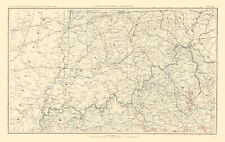 PARTS OF ILLINOIS INDIANA OHIO & KENTUCKY (IL/IN/OH/KY) BY J BIEN 1895