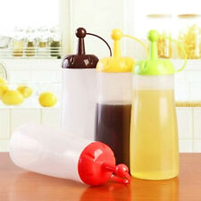 Kitchen Gadgets Tools Squeeze Honey Ketchup Soy Sauce Cooking Oil Bottle SK