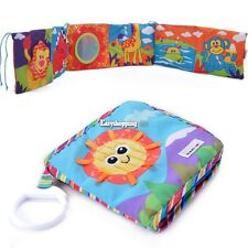 New Soft Cloth Baby Kid Intelligence Development Learn Picture Cognize Book