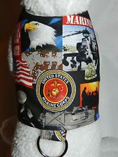 DOG CAT FERRET~US Marine Corps Armed Forces USA American Patriotic Harness
