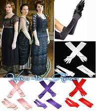 New Vtg 1920's long Opera  Burlesque Gatsby Downton Abbey Party Prom Gloves