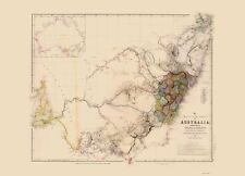 AUSTRALIA SOUTHEAST BY JOHN ARROWSMITH 1844