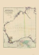 AUSTRALIA WESTERN SURVEYS BY JOHN ARROWSMITH 1844