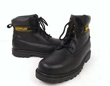 Caterpillar CAT Leather Walking Security Oil Resistant Working Boots  (FSH7)