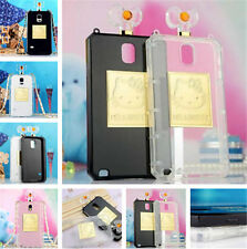 Perfume Bottle Hello Kitty TPU Phone Case Cover For Samsung Galaxy NOTE2 S4 S5