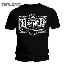 Official T Shirt THE DAMNED Classic Punk Rock LOGO Black All Sizes