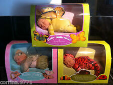 NEW & BOXED Anne Geddes Beanie Collection Baby Dolls FAIRY BUTTERFLY REBORN DOLL
