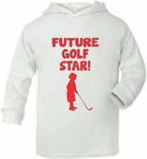 Future Golf Star Sport Cute Present Baby New Born Gift  Supersoft Baby Hoodie