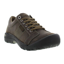 Keen Austin Mens Leather Lace-Up Walking Shoe Sizes UK 7 - 13
