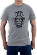 Sloth Running Team T-Shirt Costume Lazy Sloth Ask Me Why Hipster Funny MEME Tee