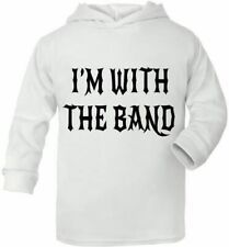 I'm With The Band Cute Present Newborn Baby Gift Supersoft Hoodie