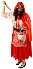 Plus Sized HALLOWEEN-Horror-Zombie Little Dead Riding Hood with Mask & Weapon
