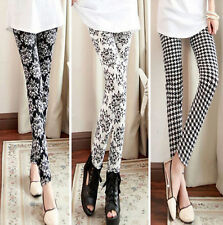 Women Skinny Print Leggings Stretchy Sexy Jeggings Pencil Tights Pants 112