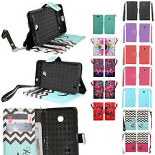 For Nokia Lumia 635 Cell Phone Case Hybrid PU Leather Wallet Pouch Flip Cover