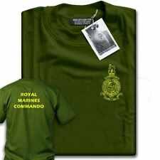 NEW Royal Marines Commando Khaki T-Shirt Mens ALL SIZES!