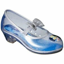NWT Disney Princess Cinderella Clear Jelly Shoes Costume Halloween 13 1 2