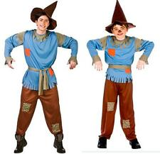 SCARECROW MENS FANCY DRESS COSTUME HALLOWEEN ADULTS BOYS SCARECROW OUTFIT