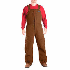DICKIES PREMIUM BIB OVERALL SANDED DUCK TB246 HEAVY DUTY WINTER GEAR 3 COLORS