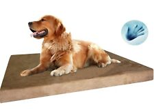 "Durable Waterproof Extra Large Orthopedic MEMORY FOAM Pad Pet Dog Bed 40""X35""X4"""