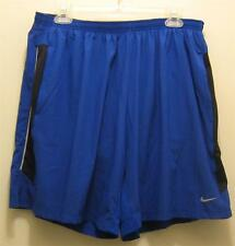 "NEW NIKE Dri Fit  7"" Stretch Mens Running Shorts with Brief NWT 613585 489 NWT"