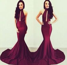 Sexy Womens Long Bodycon Prom Ball Cocktail Party Dress Formal Evening Gown