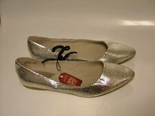 NEW SPARKLY WOMEN'S SHOES FLATS BY FADED GLORY IN GOLD OR SILVER SPARKLES