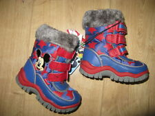 FREE P&P! boys mickey winter snow rain boots size 4 5