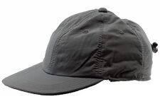 Dorfman Pacific Men's Charcoal Fleece Baseball Cap Earlap Hat