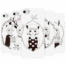 HEAD CASE MAIDENS OF THE WILD TPU SKIN BACK CASE COVER FOR APPLE iPHONE 5