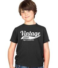 Vintage 2005 9th Birthday Childs Present Party Gift Kids Boys & Girls T-Shirt