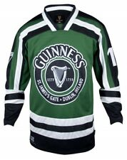 Guinness Toucan Hockey Jersey Green & Black ~ Officially Licensed ~ NEW