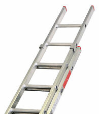 DIY Double & Triple Section Aluminium Extension Ladders British Manufactured