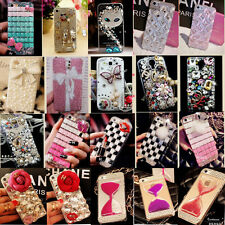 NEW LUXURY 3D Crystal Diamond BLING Hard Case Cover Skin for Samsung Galaxy